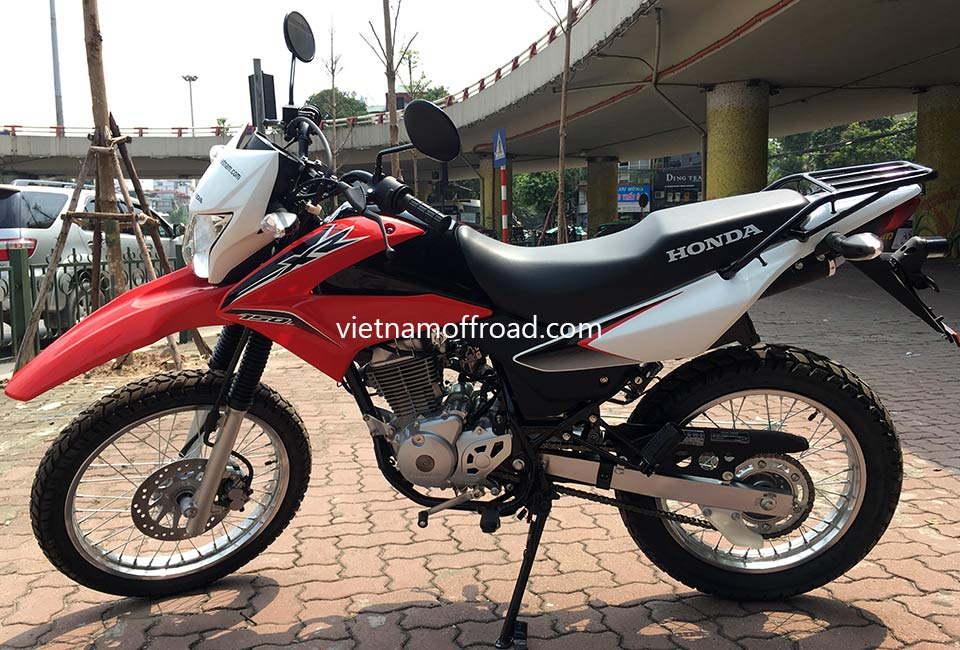 Vietnam Off-road Motorbike Tours - Our Bikes: Honda off road bike XR125L 125cc