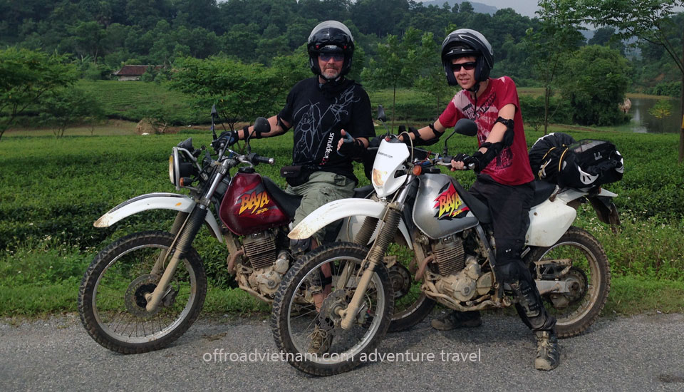 Vietnam Off-road Motorbike Tours - Testimonials from Mr. Jens Peter Andersen (Denmark)