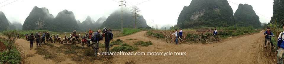 Northeast Vietnam motorbike tours in 5 days. 5 Days Northeast Vietnam