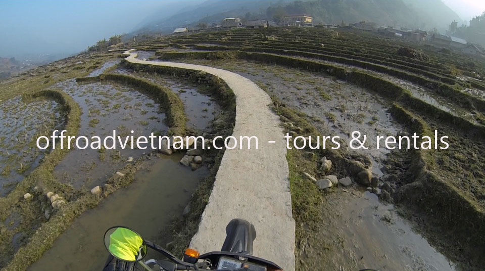 Ha Giang off road motorcycle tours. Vietnam Off-road Motorbike Tours - Ha Giang In 9 Days