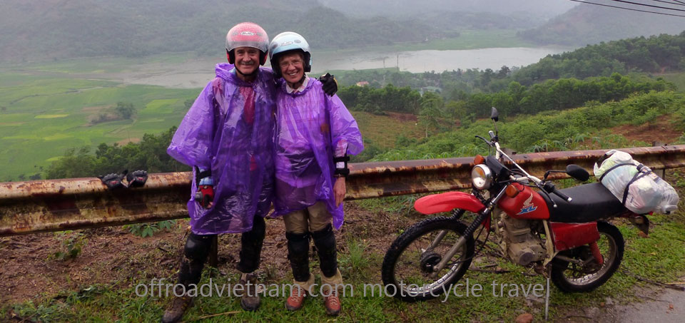 Vietnam Off-road Motorbike Tours - Testimonials from Mr. Tim and Mrs. Alice Samuelson (USA)