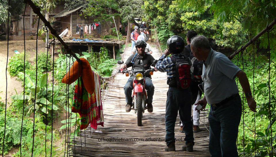 13 Days Ho Chi Minh Trail: Ho Chi Minh trail road motorbike tours in 13 days