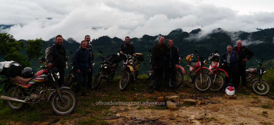 Central North Vietnam trail road motorcycle tours in 7 days. 7 Days Central North Vietnam
