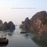 Vietnam Offroad's motorbike tours. Halong Bay.