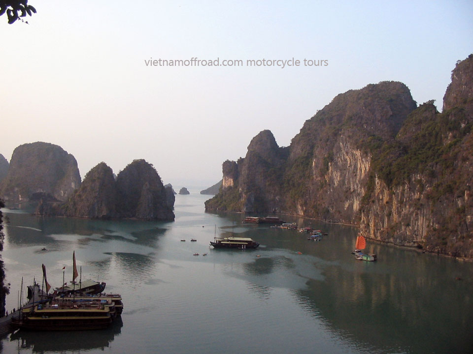 Vietnam Off-road Motorbike Tours - Big North Loop In 16 Days: Halong Bay motorbike tour