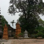 Vietnam Offroad's motorbike tours. An ancient village pagoda. Offroad Vietnam Adventure Travel's off-road motorbike and motorcycle tours and scooter rentals, starting from Hanoi and ride Northern Vietnam mountains.
