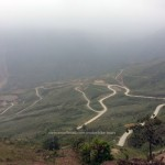 Vietnam Offroad's motorbike tours. Snake way in Ha Giang.