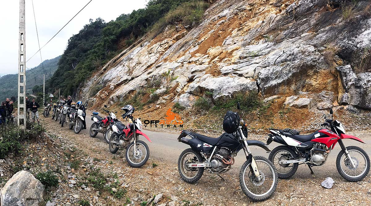 Motorbikes and scooters you can hire in Hanoi, Vietnam from Vietnam Offroad Motorbike Tours.