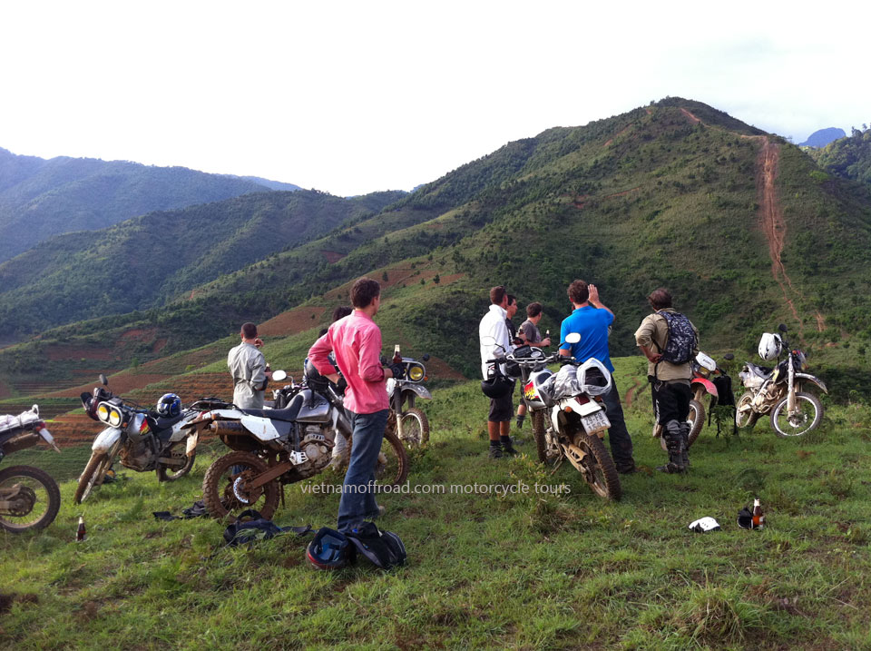 Vietnam Off-road Motorbike Tours - Central North Motorcycling In 5 Days, Than Uyen motorcycle tour. Central North Motorcycling In 5 Days