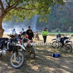 Ban Gioc of Northeast Vietnam motorbike tour.